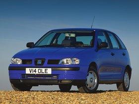 Fotos de Seat Ibiza 5 puertas UK 1999