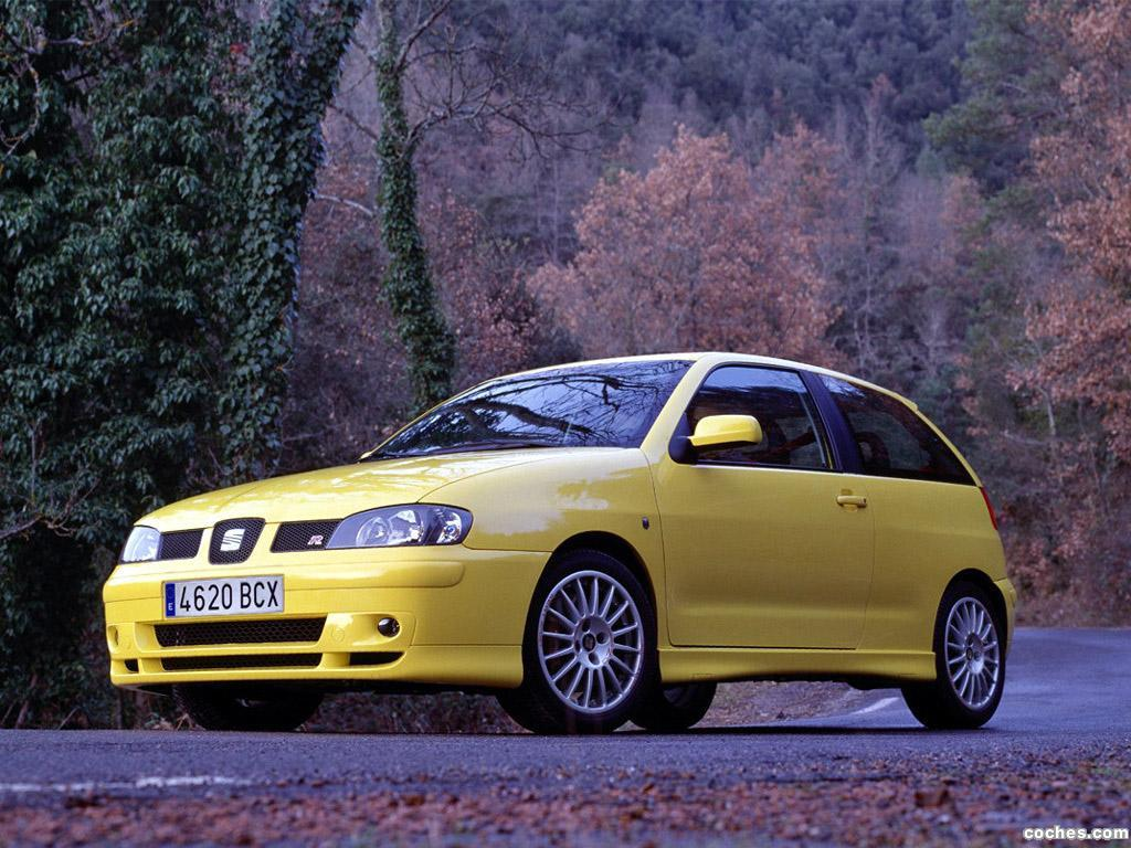 fotos de seat ibiza cupra r 2001. Black Bedroom Furniture Sets. Home Design Ideas