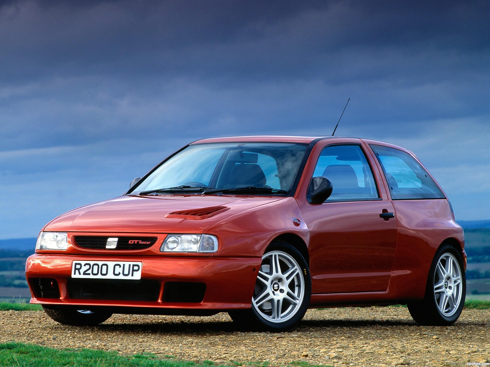 Foto 0 de Seat Ibiza Cupra Sport F2 UK 1997