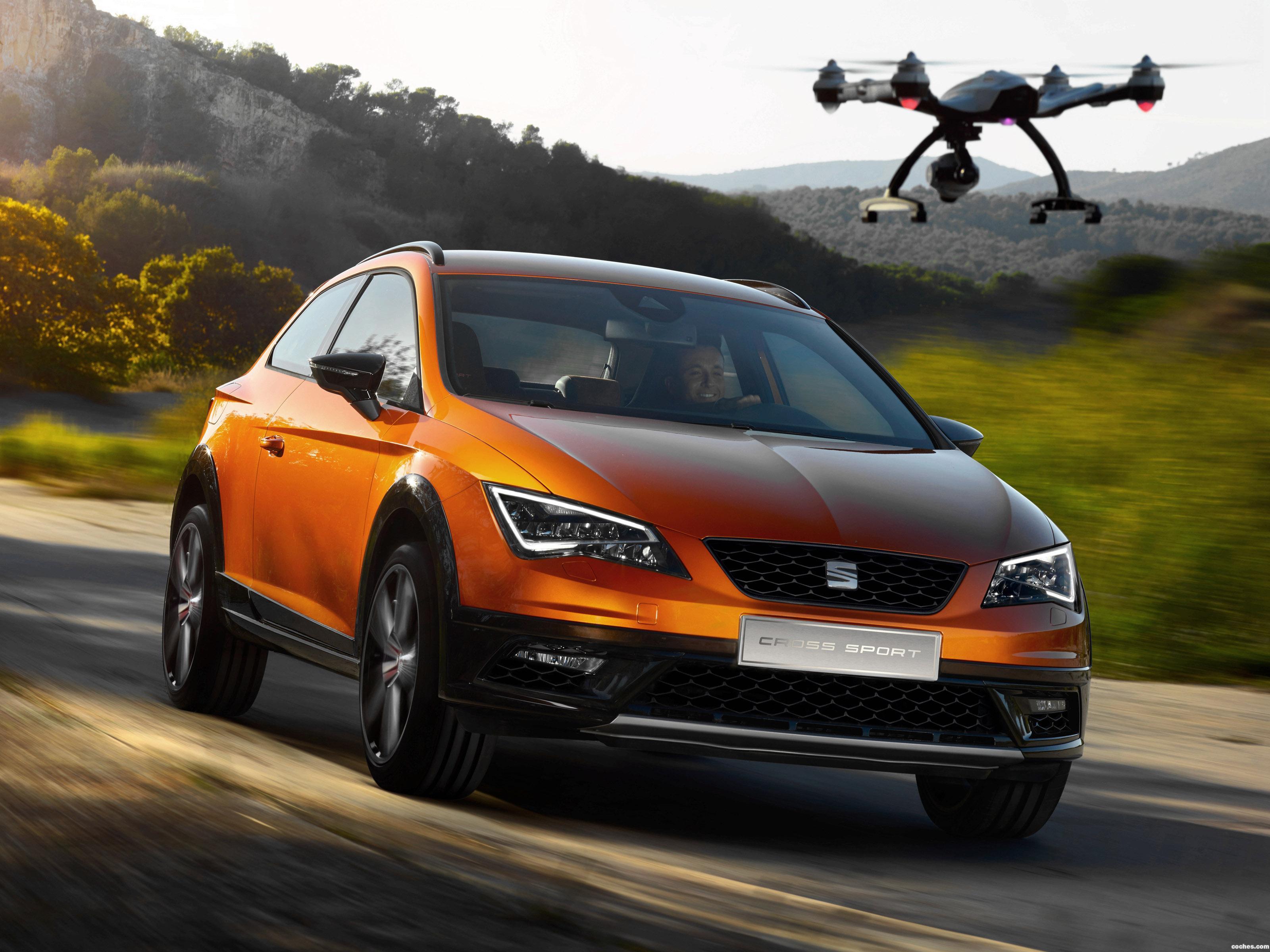 Foto 0 de Seat Leon Cross Sport Concept 2015