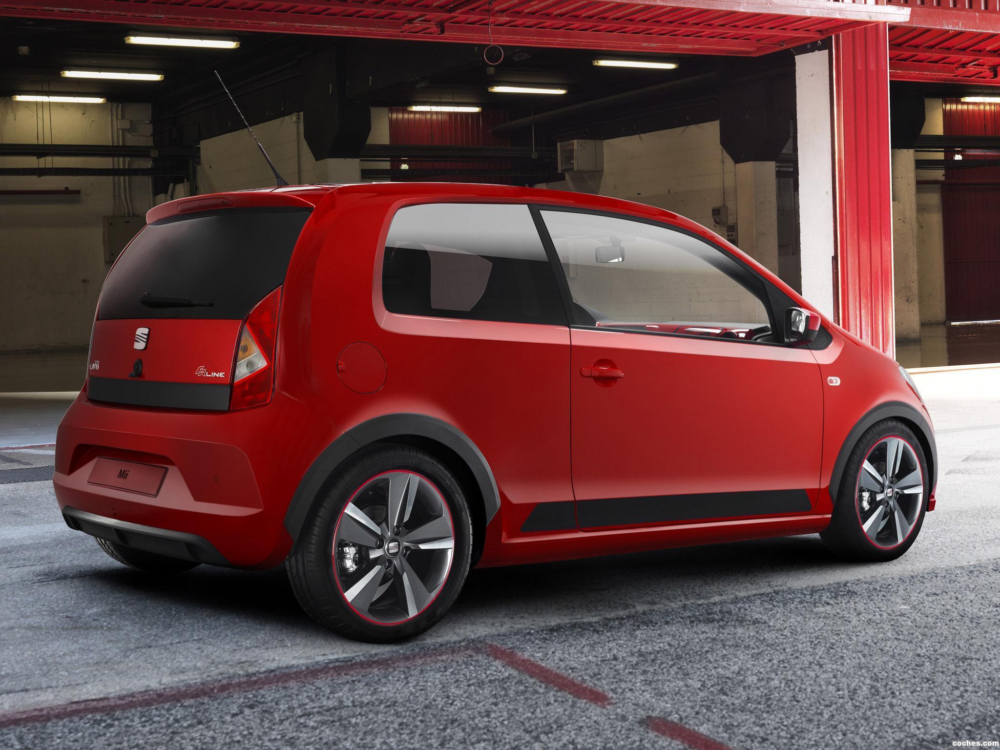 Foto 0 de Seat Mii 3 puertas FR Line Concept 2012