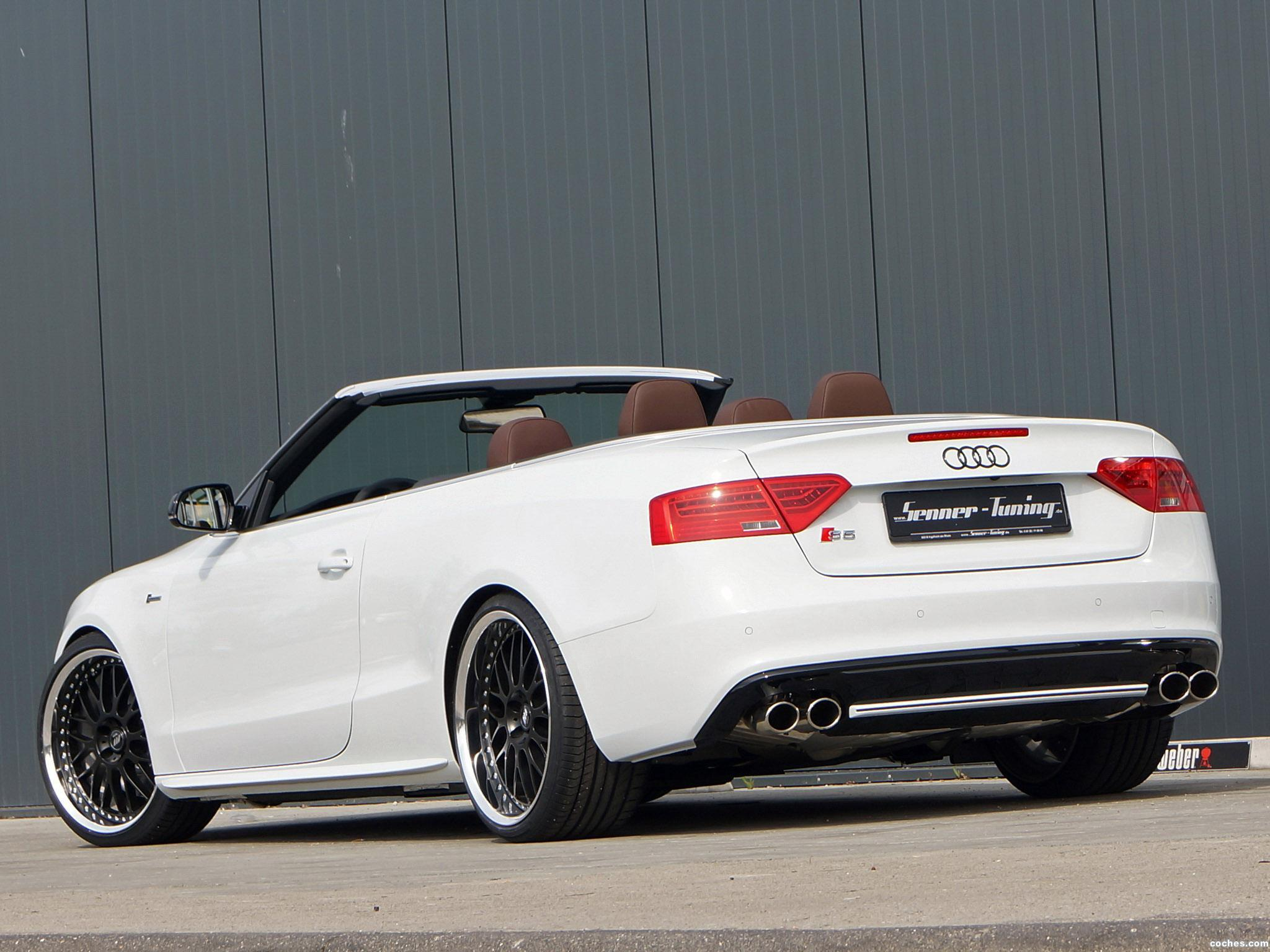 Foto 2 de Audi Senner S5 Cabriolet 2013