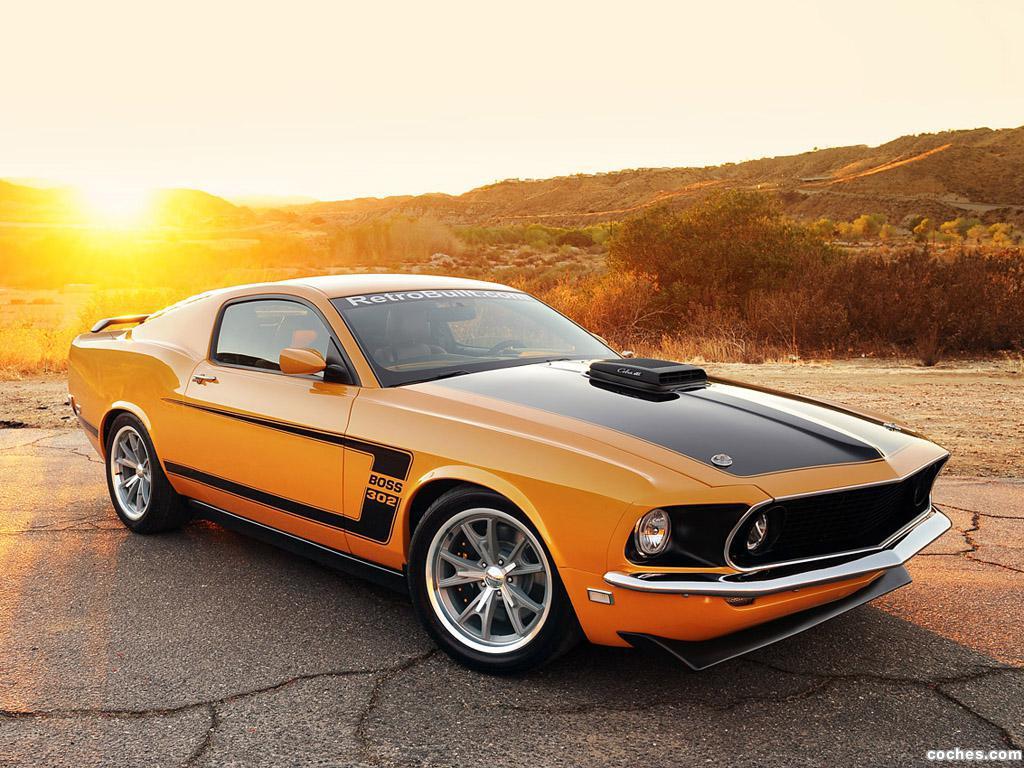 Foto 0 de Shelby Ford Mustang Fastback 1969 Retrobuilt 2012