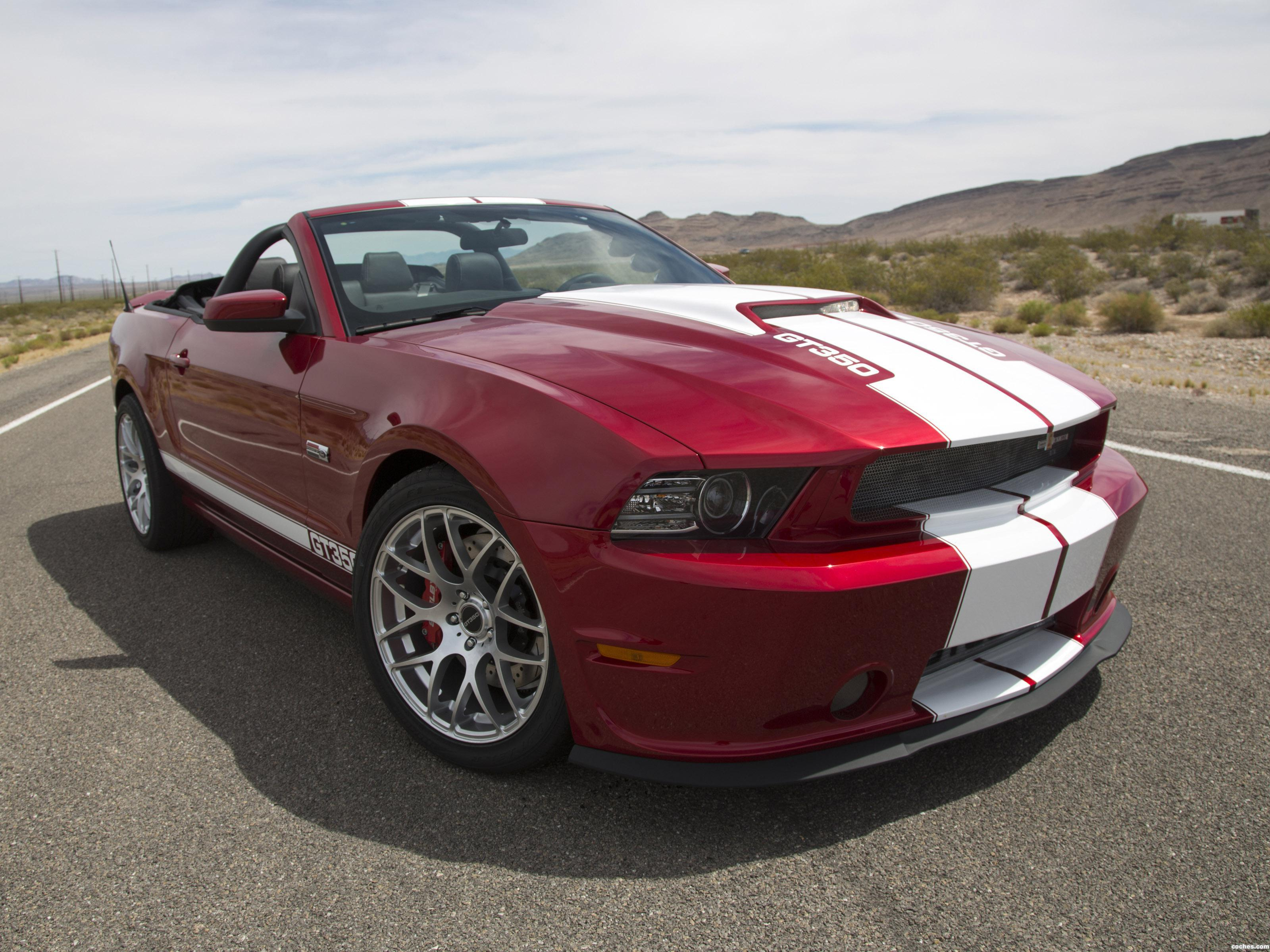Foto 0 de Ford Shelby Mustang GT350 Convertible 2013