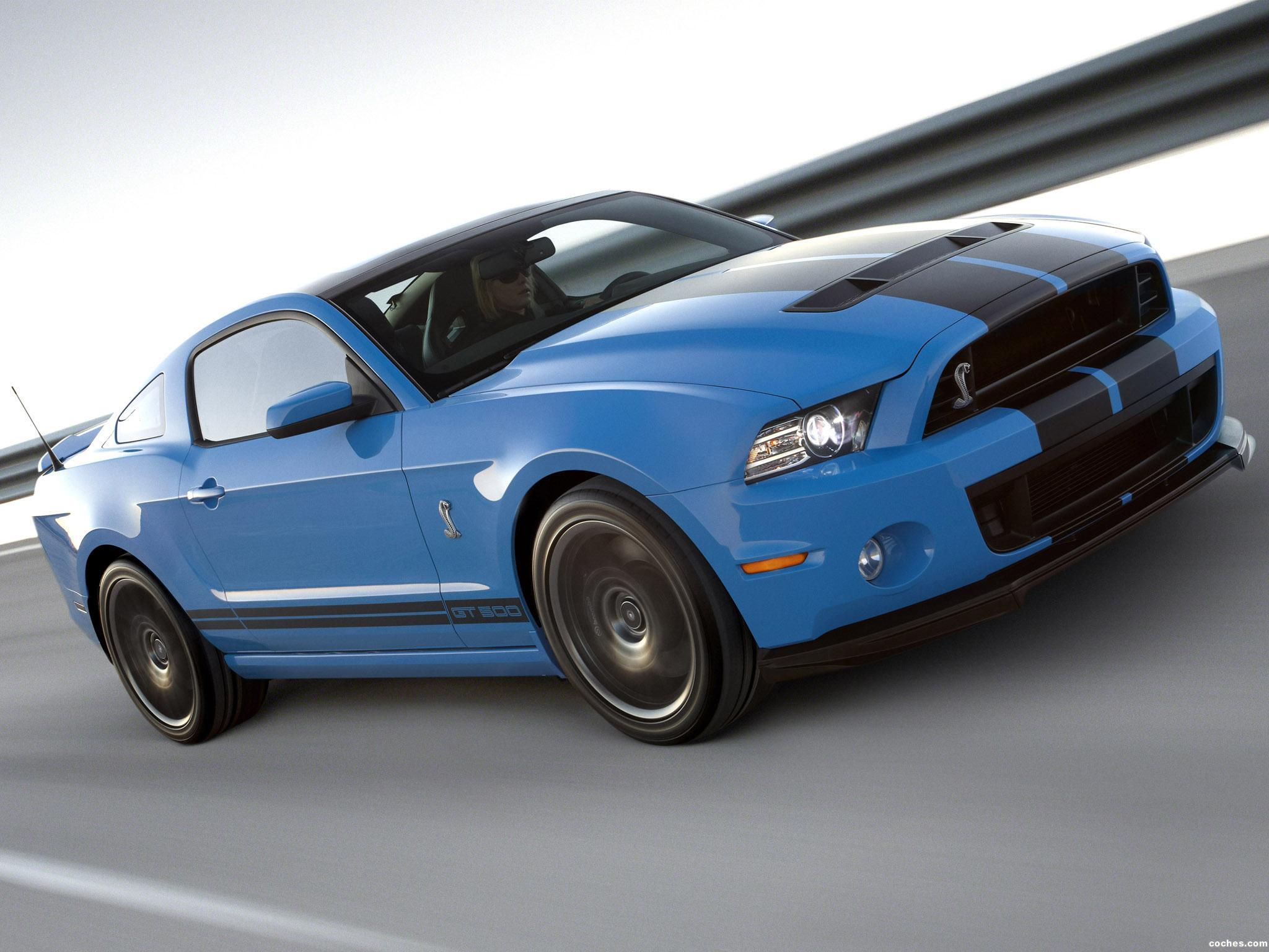Foto 0 de Ford shelby Mustang GT500 2012