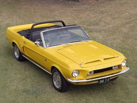 Fotos de Ford Shelby Mustang GT500 KR Convertible 1968