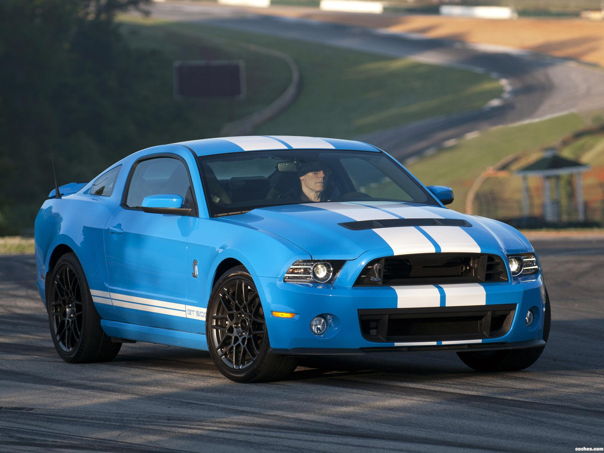 Foto 1 de Ford Shelby Mustang GT500 SVT 2012