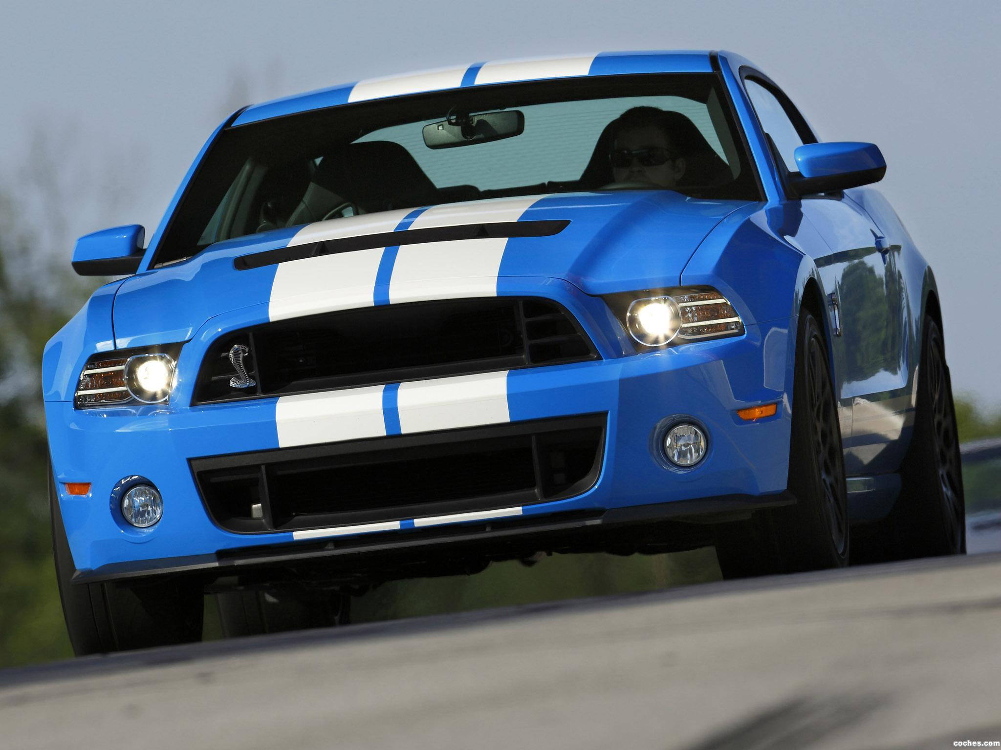 Foto 0 de Ford Shelby Mustang GT500 SVT 2012