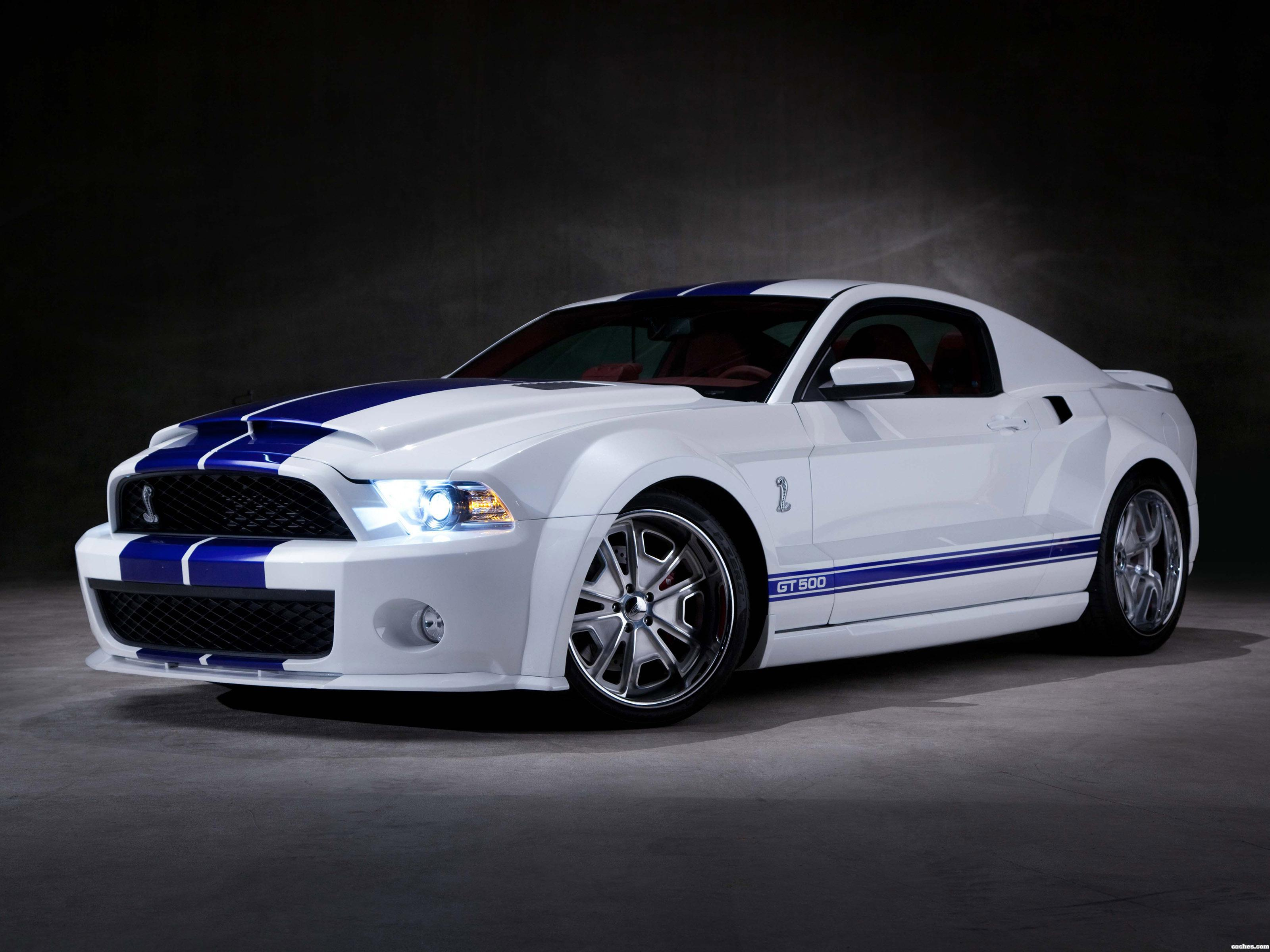 Foto 0 de Shelby Ford Mustang GT500 SVT Wide Body Galpin Auto Sport 2012