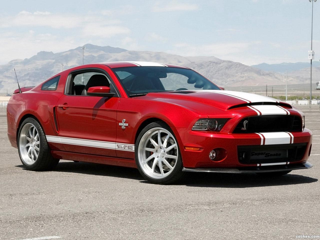 Fotos de Ford Shelby Mustang GT500 Super Snake 2013  Foto 7