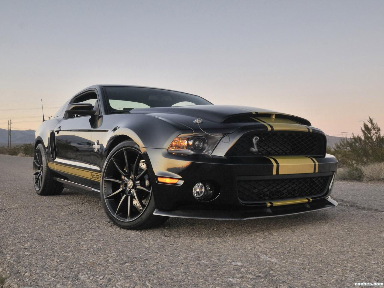 Foto 0 de Ford Shelby Mustang GT500 Super Snake 50th Anniversary 2012