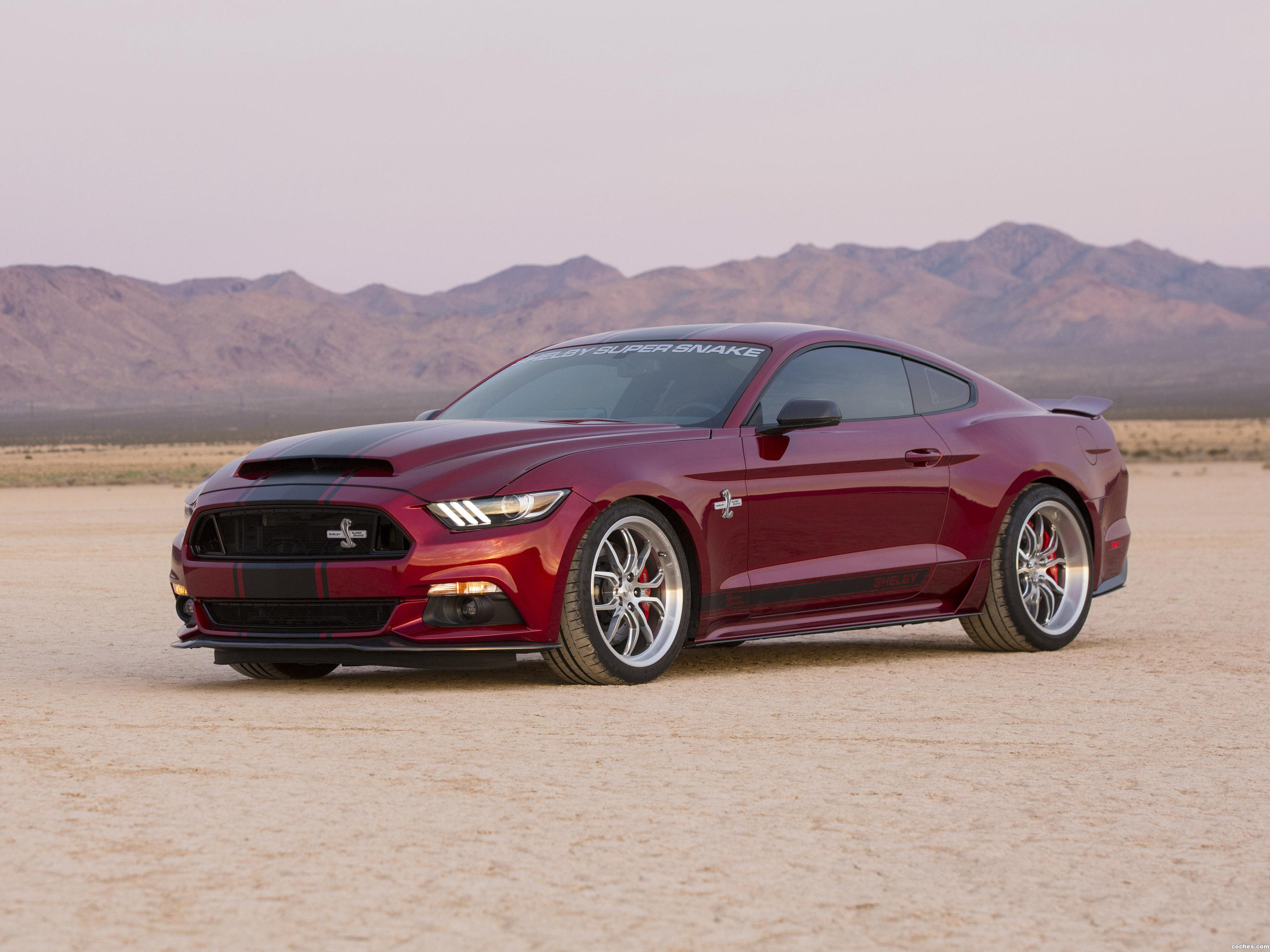 Foto 0 de Shelby Ford Mustang Super Snake 2015