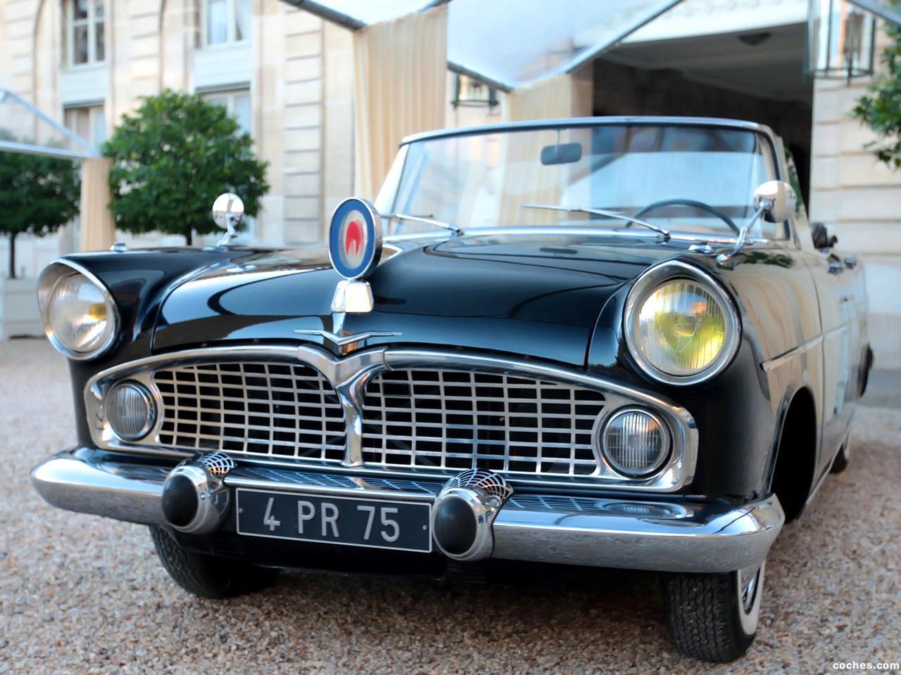 Foto 0 de Simca Presidence Cabriolet 1957