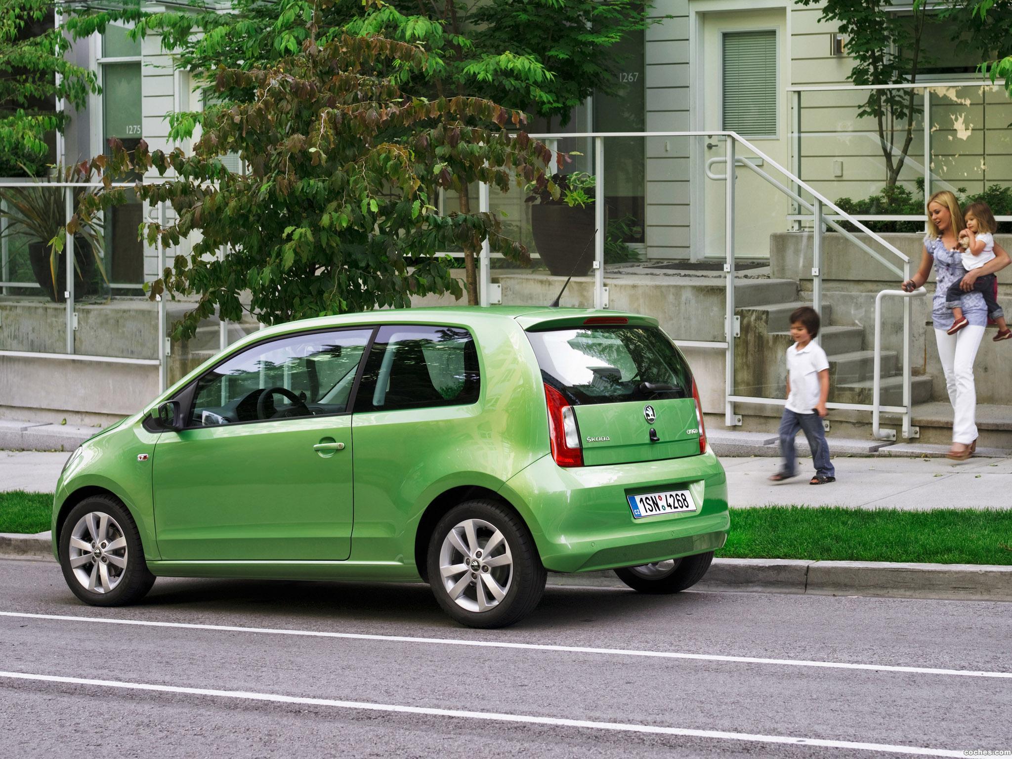 Foto 10 de Skoda Citigo 3 puertas 2012