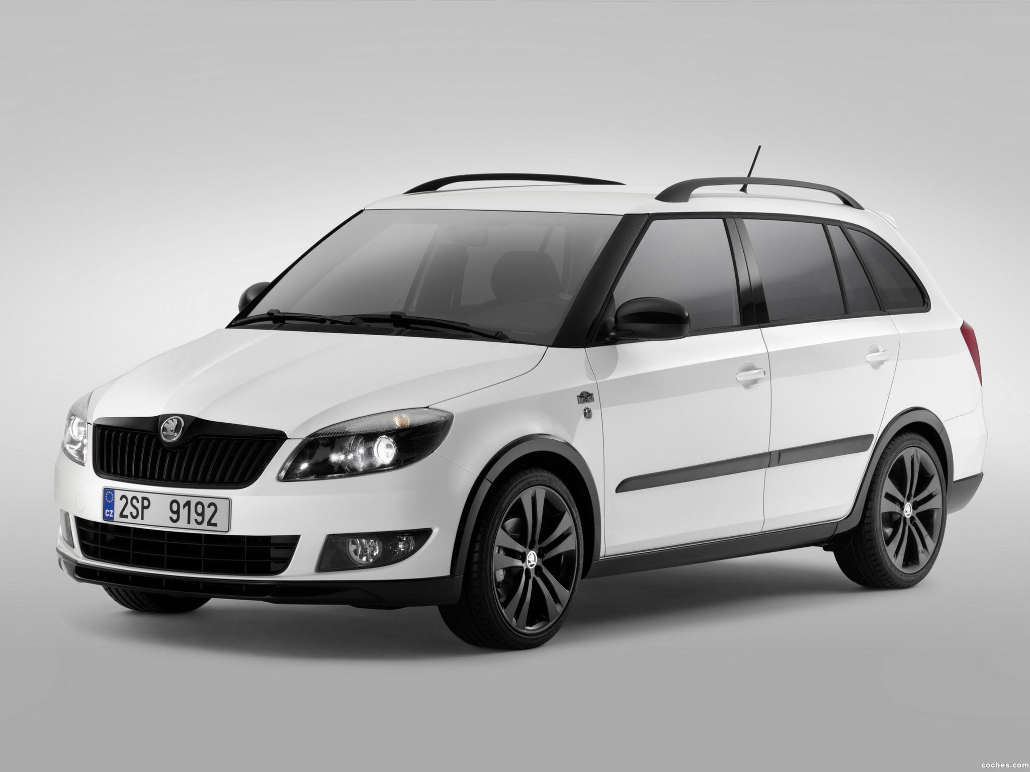 fotos de skoda fabia combi monte carlo 2013. Black Bedroom Furniture Sets. Home Design Ideas