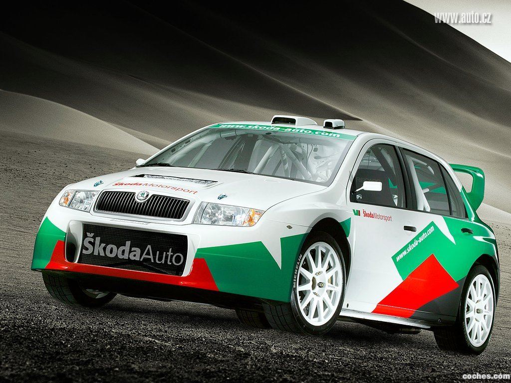Foto 0 de Skoda Fabia WRC 2005