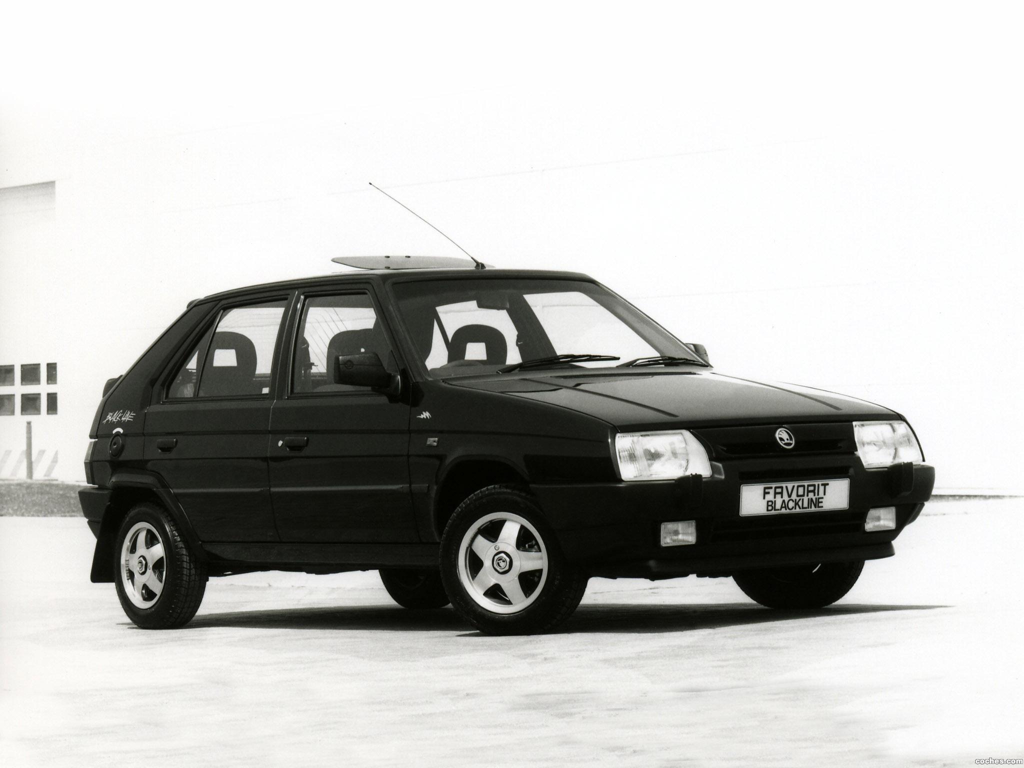 Foto 0 de Skoda  Favorit Blackline Type-781 UK 1993