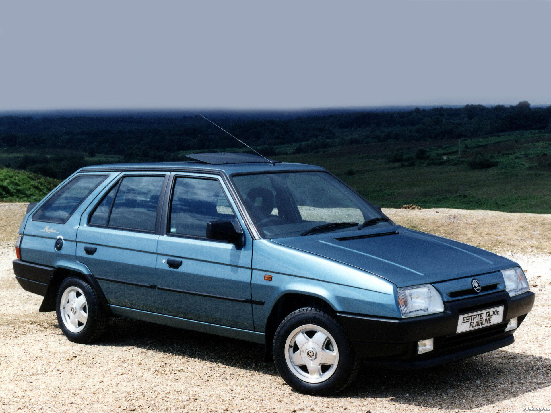 Foto 0 de Skoda Favorit Estate Flairline Type-785 1992