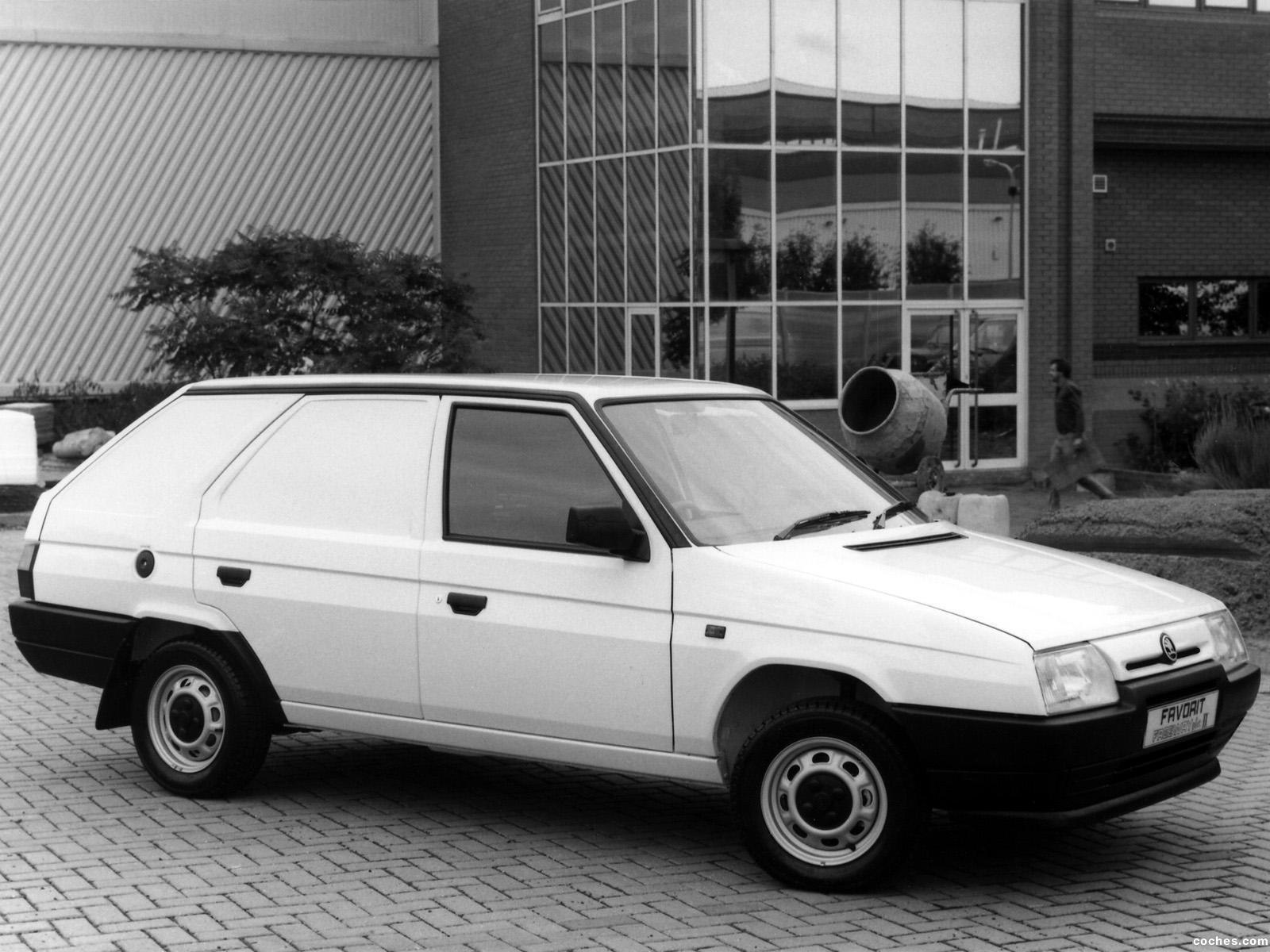 Foto 0 de Skoda Favorit Freeway Plus II Van Type-785 1991
