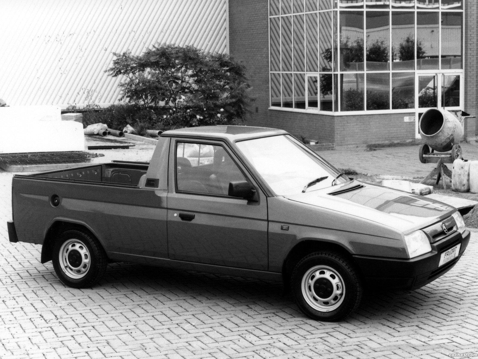 Foto 0 de Skoda Favorit Pick-Up Type-787 1991
