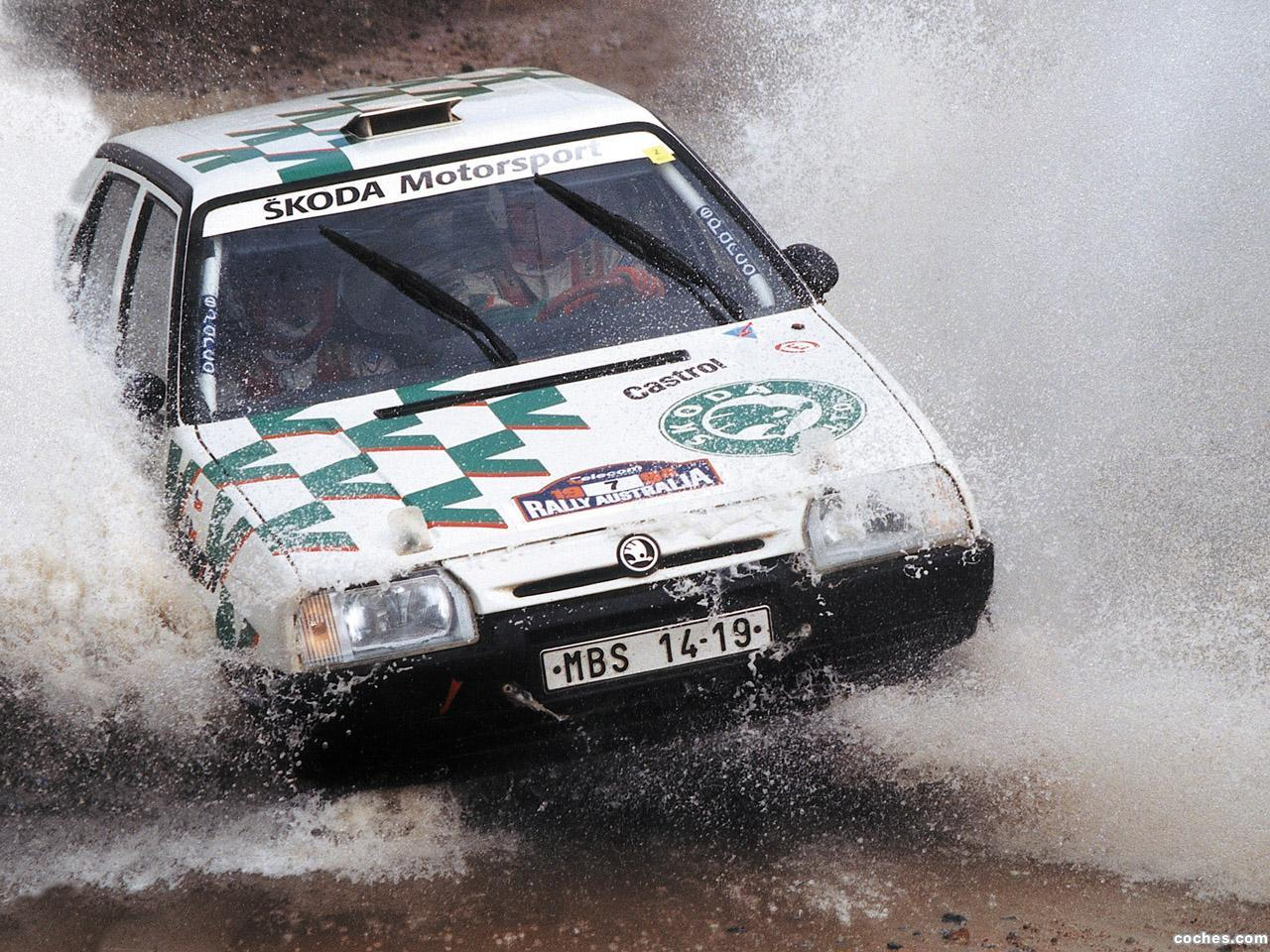 Foto 0 de Skoda Favorit Rally Type-781 1994