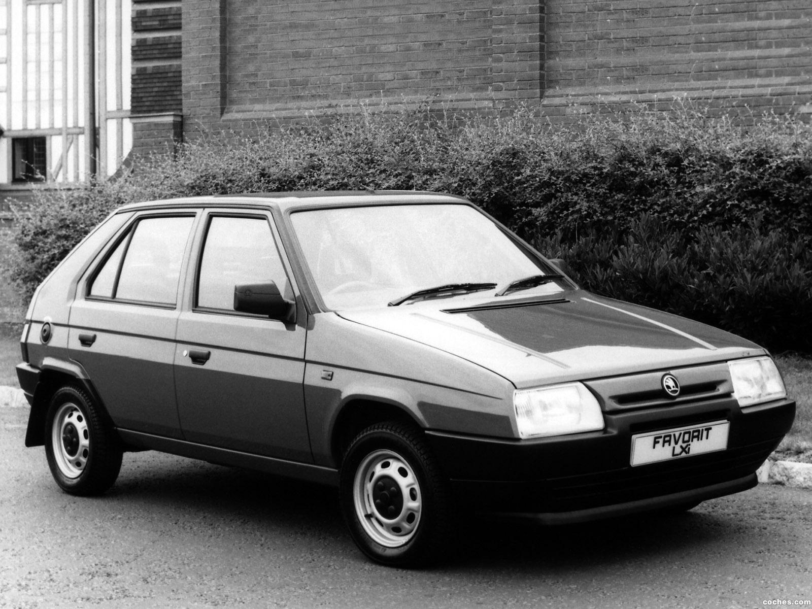 Foto 0 de Skoda Favorit Type-781 UK 1989