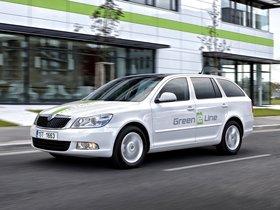 Ver foto 3 de Skoda Octavia Green E Line Test Car 2012