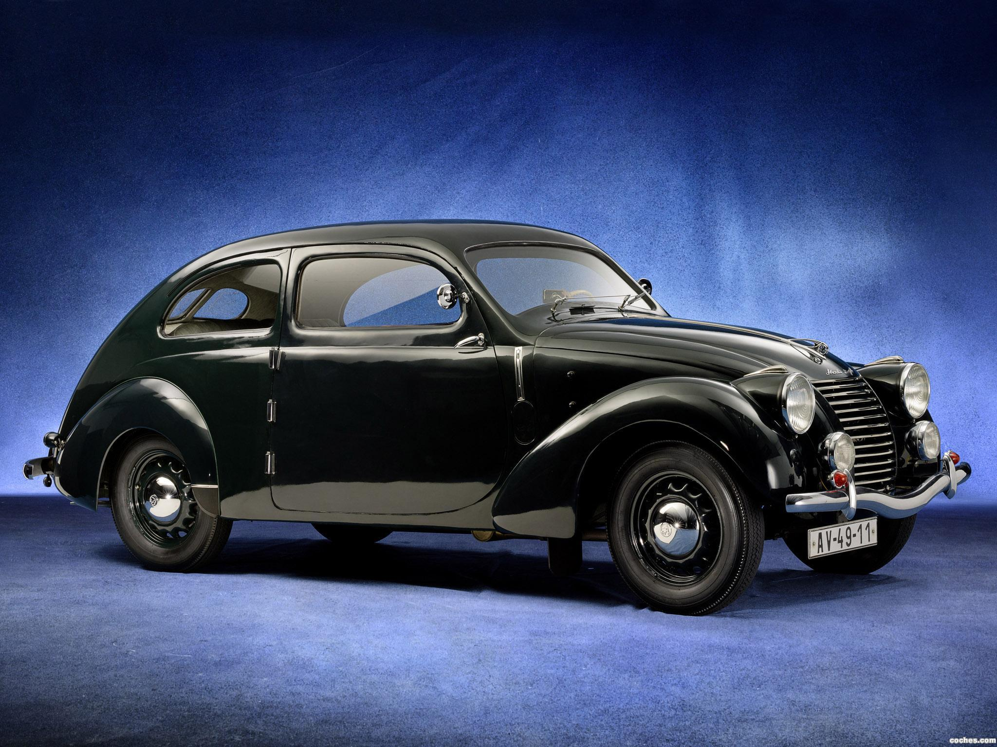 Foto 0 de Skoda Rapid OHV Streamlined Tudor Type 922 1939