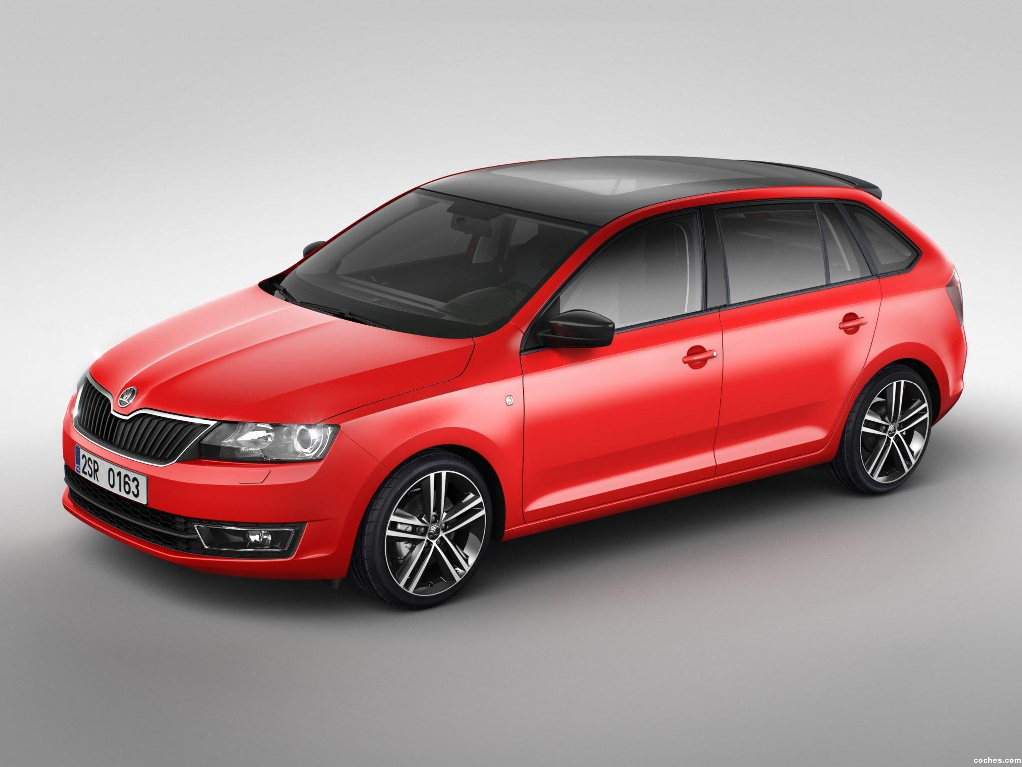 Foto 0 de Skoda Rapid Spaceback 2013