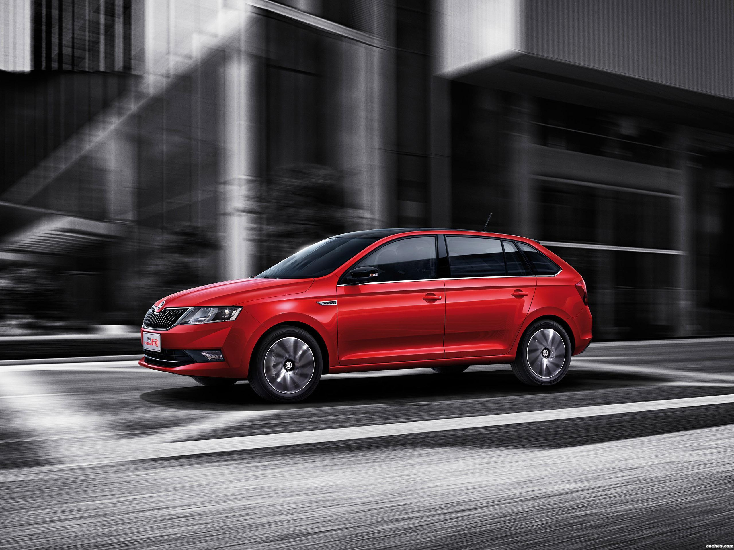 Foto 0 de Skoda Rapid Spaceback China 2017