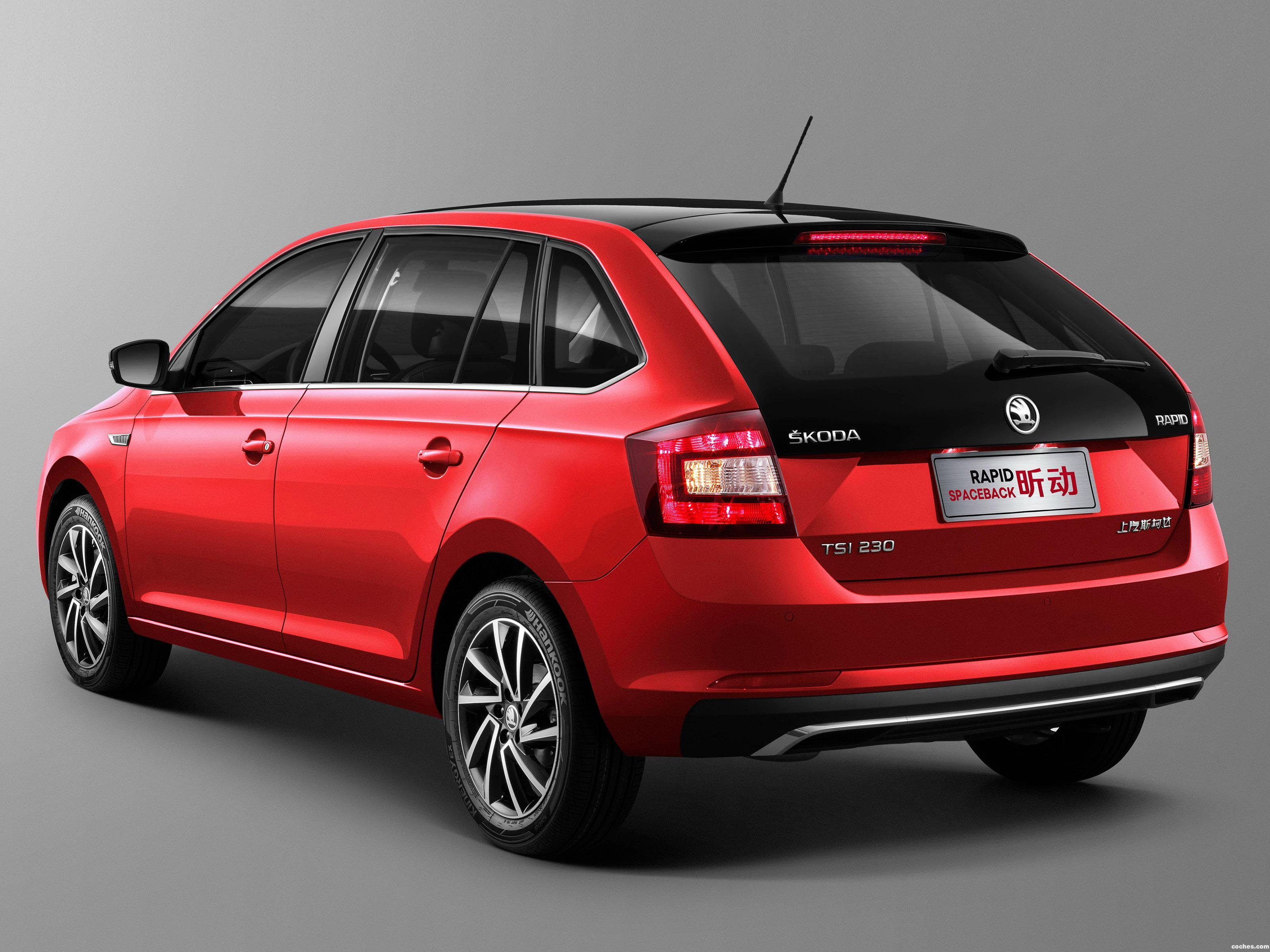Foto 1 de Skoda Rapid Spaceback China 2017