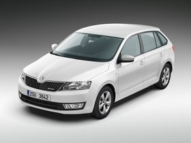 Ver foto 1 de Skoda Rapid Spaceback GreenLine 2013