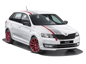 Ver foto 1 de Skoda Rapid Spaceback Red Grey 2014