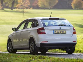 Ver foto 16 de Skoda Rapid Spaceback UK 2013