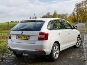 Ver foto 14 de Skoda Rapid Spaceback UK 2013