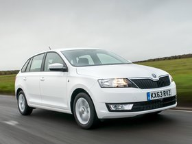 Ver foto 13 de Skoda Rapid Spaceback UK 2013
