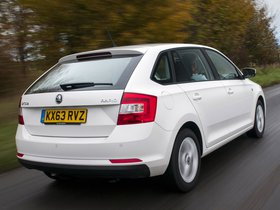 Ver foto 12 de Skoda Rapid Spaceback UK 2013