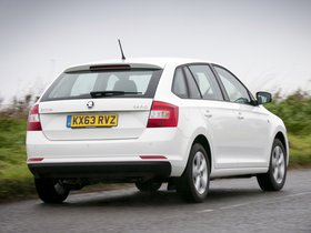 Ver foto 11 de Skoda Rapid Spaceback UK 2013