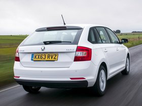 Ver foto 10 de Skoda Rapid Spaceback UK 2013