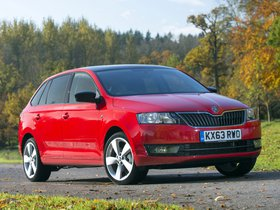 Ver foto 8 de Skoda Rapid Spaceback UK 2013