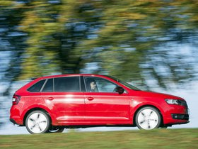 Ver foto 7 de Skoda Rapid Spaceback UK 2013