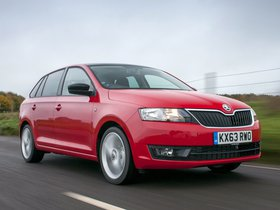 Ver foto 24 de Skoda Rapid Spaceback UK 2013