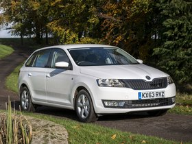 Ver foto 4 de Skoda Rapid Spaceback UK 2013