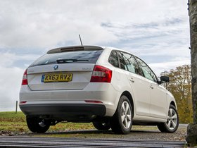 Ver foto 2 de Skoda Rapid Spaceback UK 2013