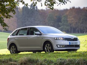 Ver foto 18 de Skoda Rapid Spaceback UK 2013