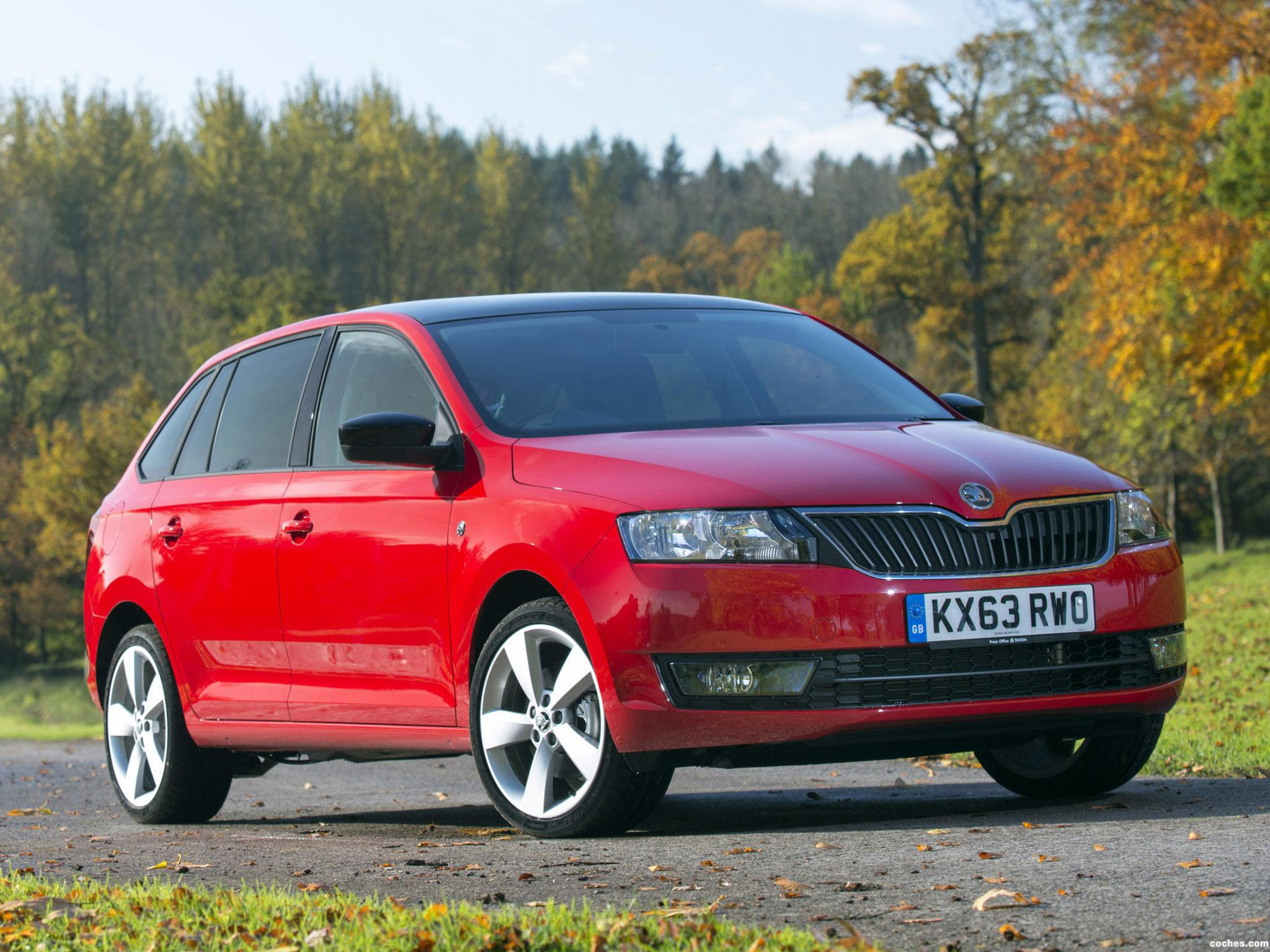 Foto 7 de Skoda Rapid Spaceback UK 2013