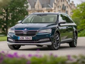 Fotos de Skoda Superb Scout 2019