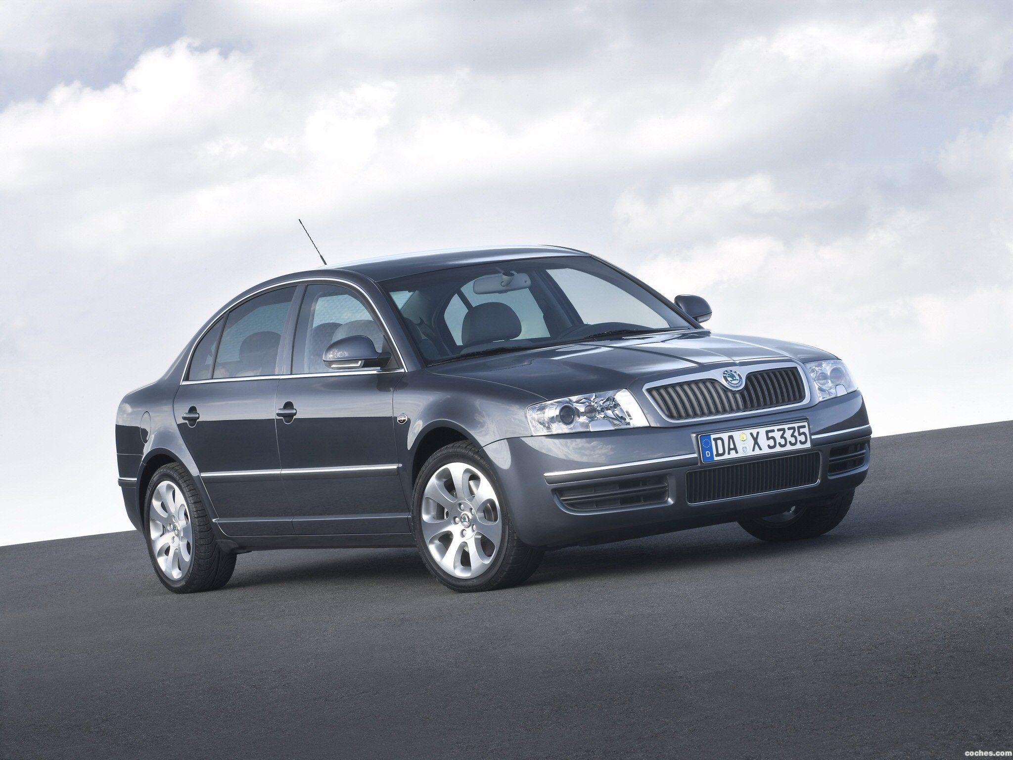 Foto 0 de Skoda Superb Facelift 2006