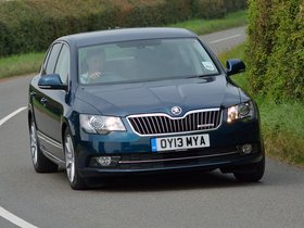 Fotos de Skoda Superb Greenline UK 2013