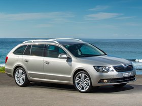 Fotos de Skoda Superb Wagon Australia 2014
